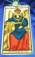 Emperatriz-Arcano III-Tarot de Marsella
