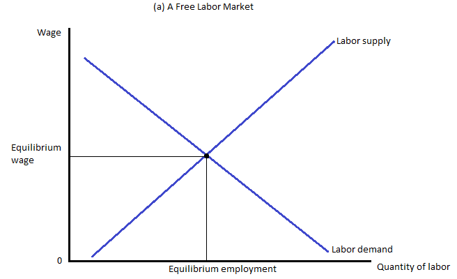 Microeconomics did minimum wage affect on government for Marke minimum