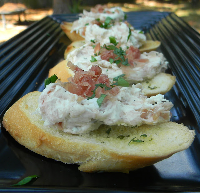 ... Whisk: Last Minute Appetizer - Herbed Cheese and Prosciutto Spread