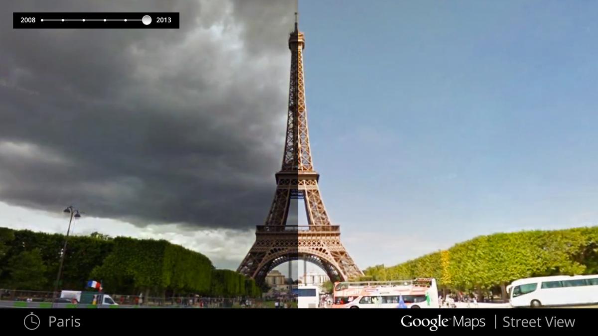 Trở Về Quá Khá Bằng Google Street View