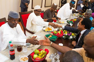 Presidential Dinner in honour of Senators