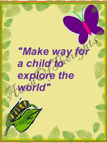 Aura of thoughts-Parenting-quote