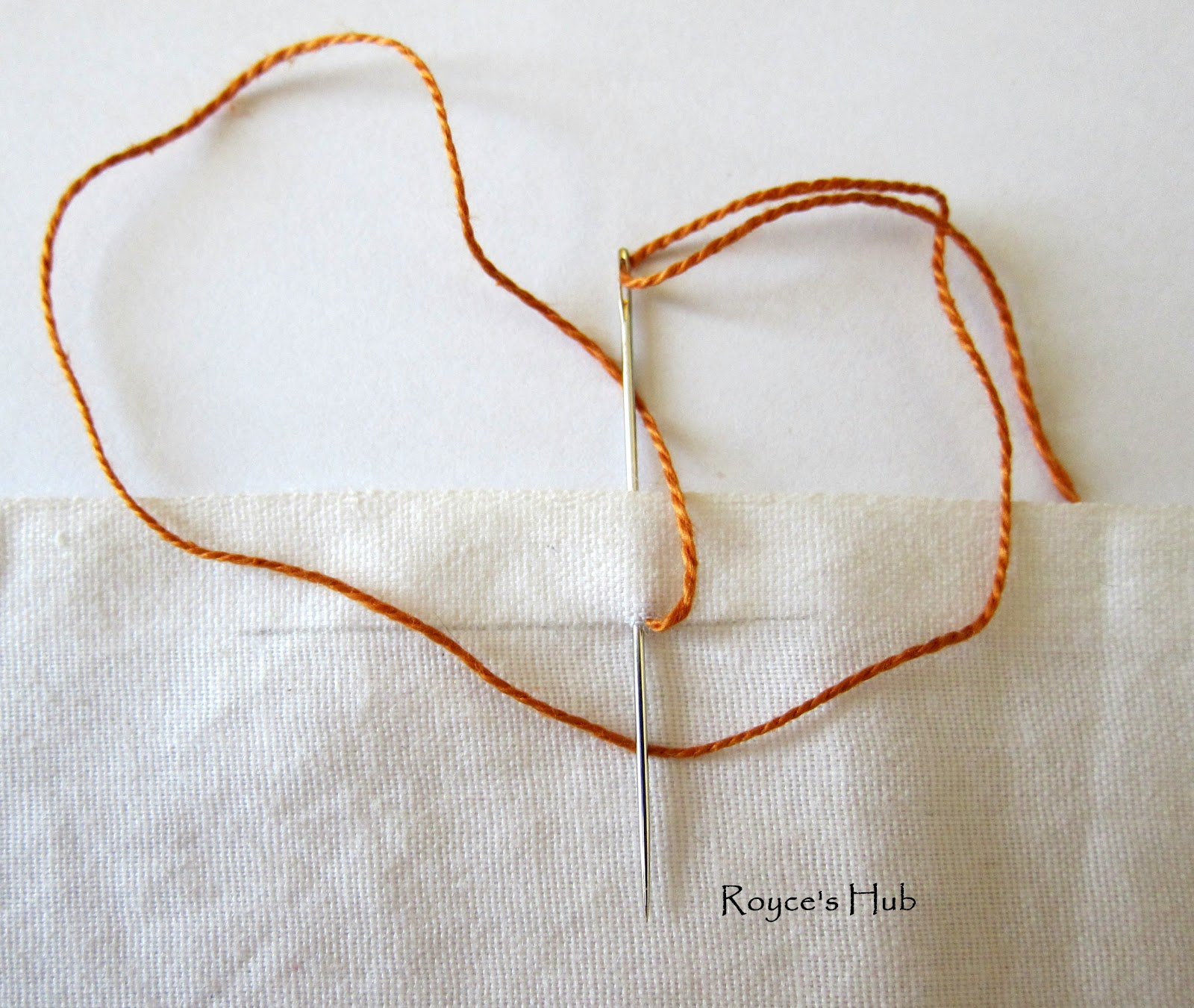 Royce's Hub: Basic Embroidery Stitches: Buttonhole Stitch ...
