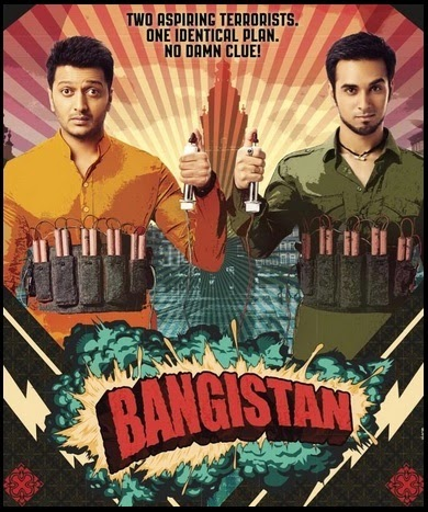 Bangistan (2014) Bollywood Comedy Movie Poster, Picture