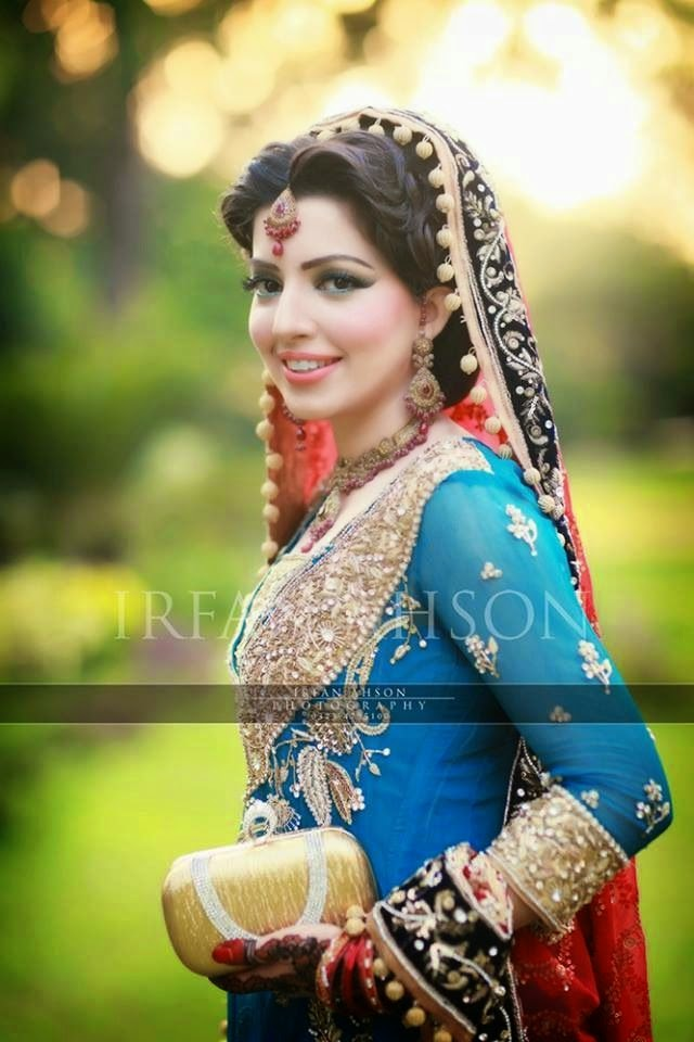 Latest Desi Wedding Dress For Pakistani Girls Pak Fashion