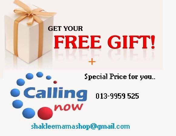 Free Gift Produk Tambah Air mani/Sperma
