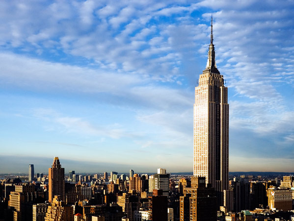 Famous Buildings Of The World The Empire State Buidling