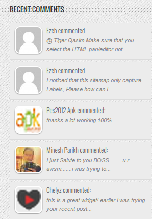 widget komentar terbaru