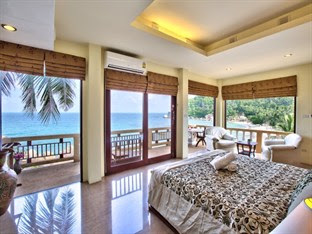 Crystal Bay Beach Resort, Lamai, Koh Samui, Grand seaview room