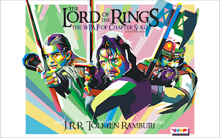 Poster The Lord of the Rings: The Two Towers in WPAP