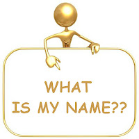 easy riddle what is my name