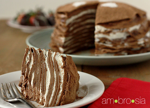 Trocas e Truques de Culinária: Bolo crepe de chocolate