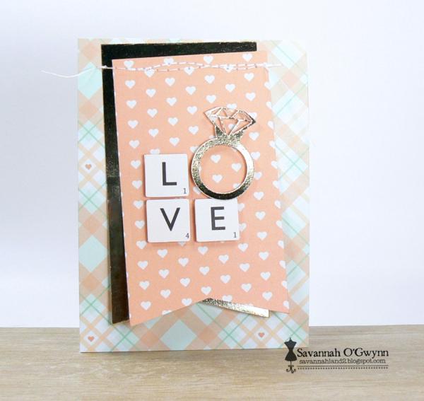 Savannah O'Gwynn Chickaniddy Love Card