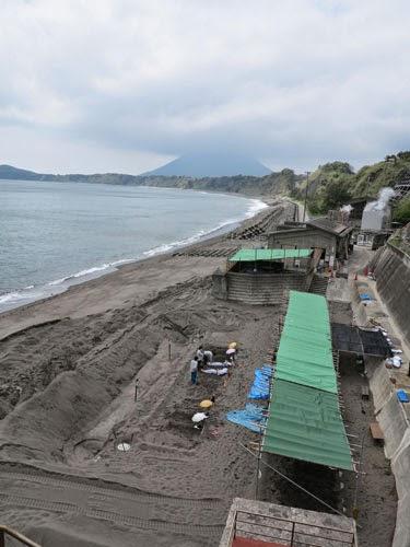 Yamakawa Sand bath, Kagoshima