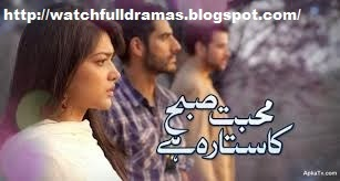 Mohabbat Subha Ka Sitara Hai Episode 20 in High Quality 25th April 2014