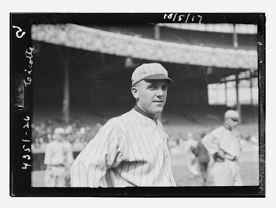 Chicago White Sox Pitcher Eddie Cicotte, 1917 - Source: Library of Congress - http://www.loc.gov/pictures/resource/ggbain.50311/