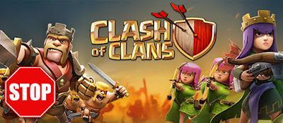 Dampak Buruk Bermain Clash of Clans (COC)