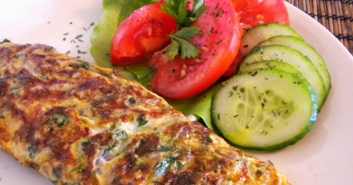 Portuguese Parsley & Onion Omelet
