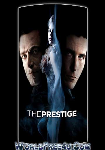 Poster Of The Prestige (2006) In Hindi English Dual Audio 300MB Compressed Small Size Pc Movie Free Download Only At worldfree4u.com