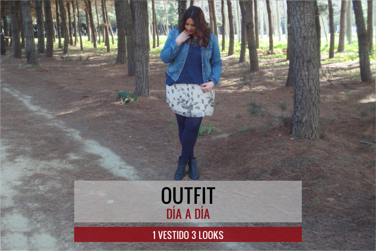 Outfit · 1 Vestido 3 Looks