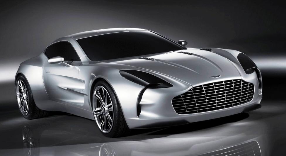 Gambar Mobil Keren Mewah - Aston Martin One 77
