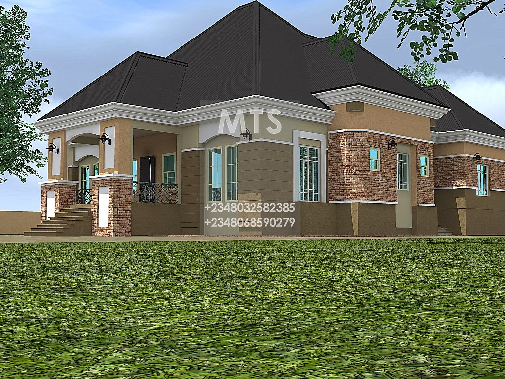 Ibekwe 5 bedroom bungalow residential homes and public for 5 bedroom bungalow house plans