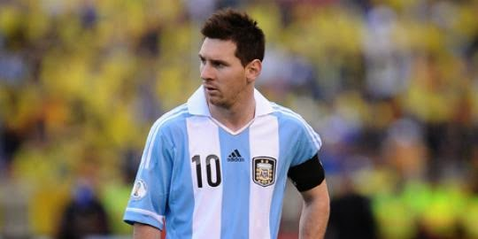 Gaya Rambut Lionel Messi
