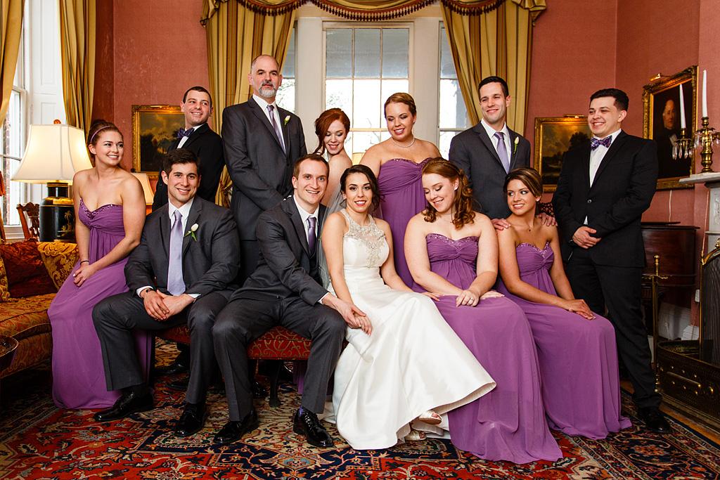 Antrim 1844, Antrim 1844 wedding photography, antrim 1844 wedding pictures, antrim 1844 bridal party shot, creative bridal party pictures
