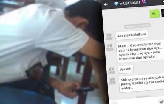 Tegur awek cun di WeChat, lelaki ini mendapat sesuatu yang sangat mengejutkan