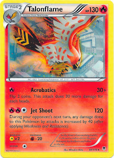 Talonflame Phantom Forces Pokemon Card