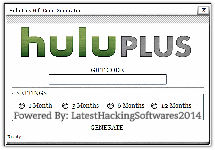 Hulu Plus Account – Hulu Plus Gift Code Generator 2014 ...