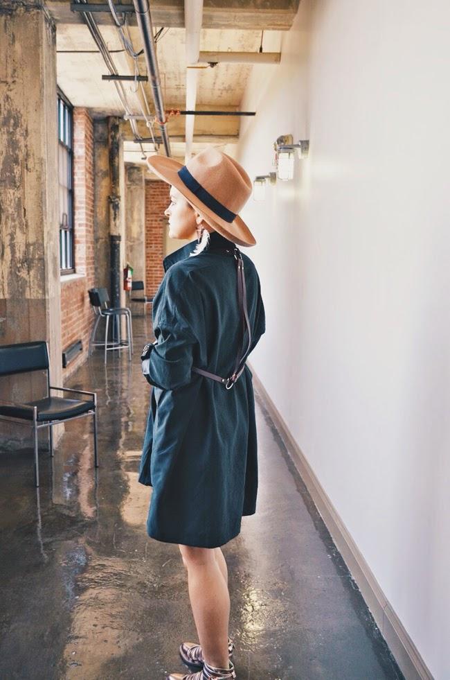 Handmade Drape Body Harness - Cleveland loft