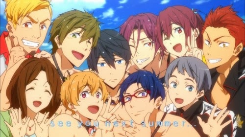 Anime Free! - Iwatobi Swim Club Season 2 Diumumkan