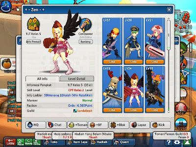 Screenshot Char Lost Saga Full Cash