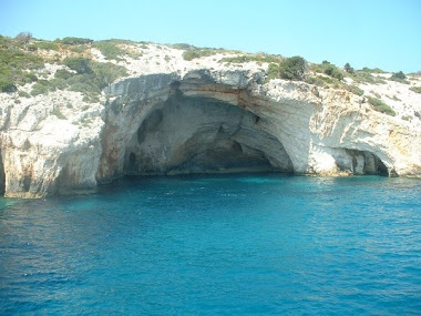 coves in greece