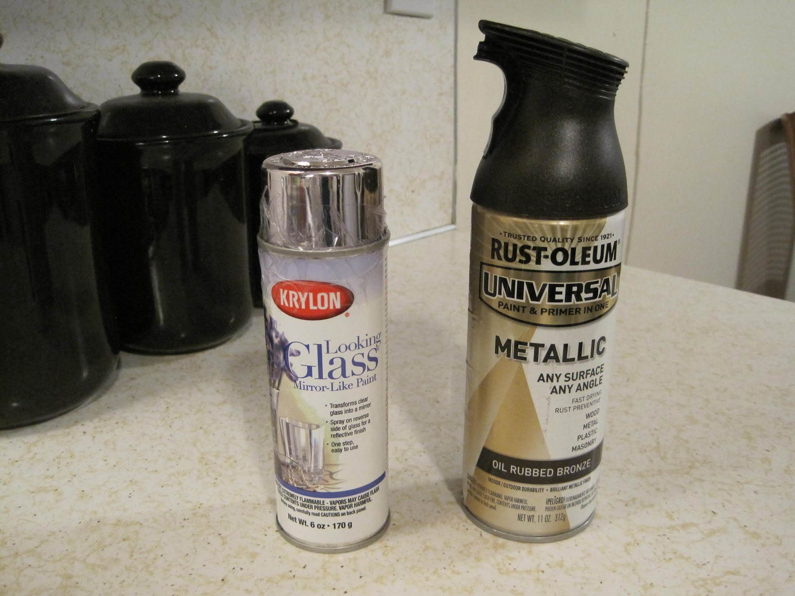 krylon looking glass spray paint rustoleum oil rubbed bronze spray. Black Bedroom Furniture Sets. Home Design Ideas