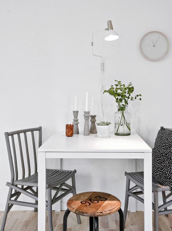 Piccoli spazi stile scandinavo versione mini 34mq con for Stile scandinavo