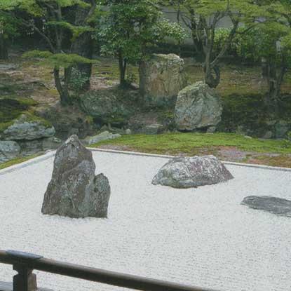 Parchi e giardini for Pietre giardino zen