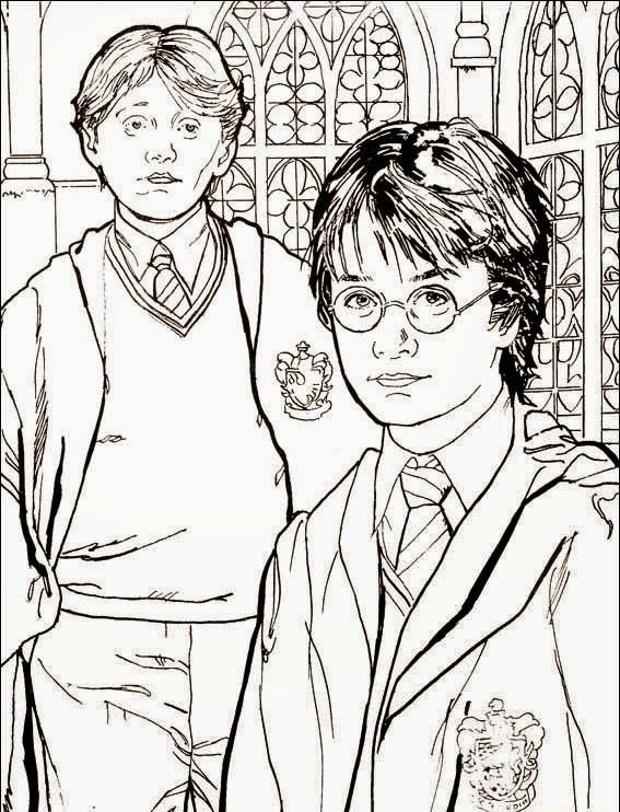 Harry Potter coloring.filminspector.com