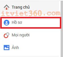 Trang chủ Google Plus