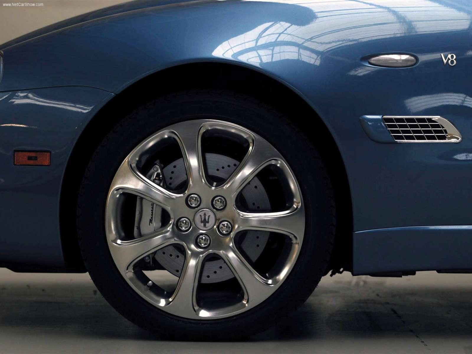 Hình ảnh siêu xe Maserati Spyder Vintage package 2003 & nội ngoại thất