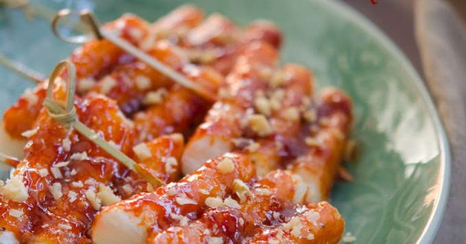 Korean Rice Cake Recipe Sauce Jam