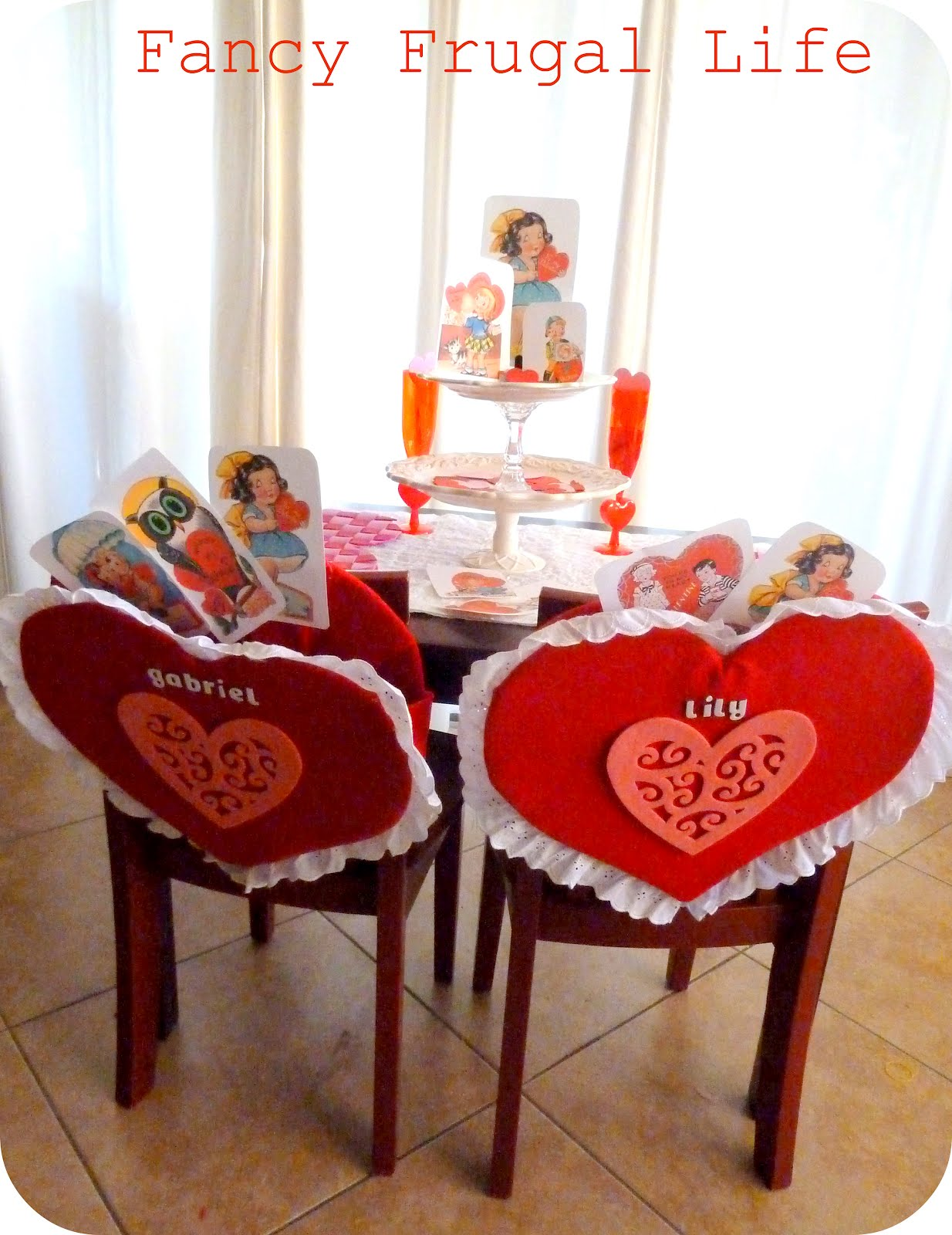 pottery barn kids inspired chair backs our valentine s kid table