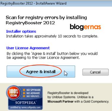 Cara Menginstal RegistryBooster Trial Gratis Menjadi Full