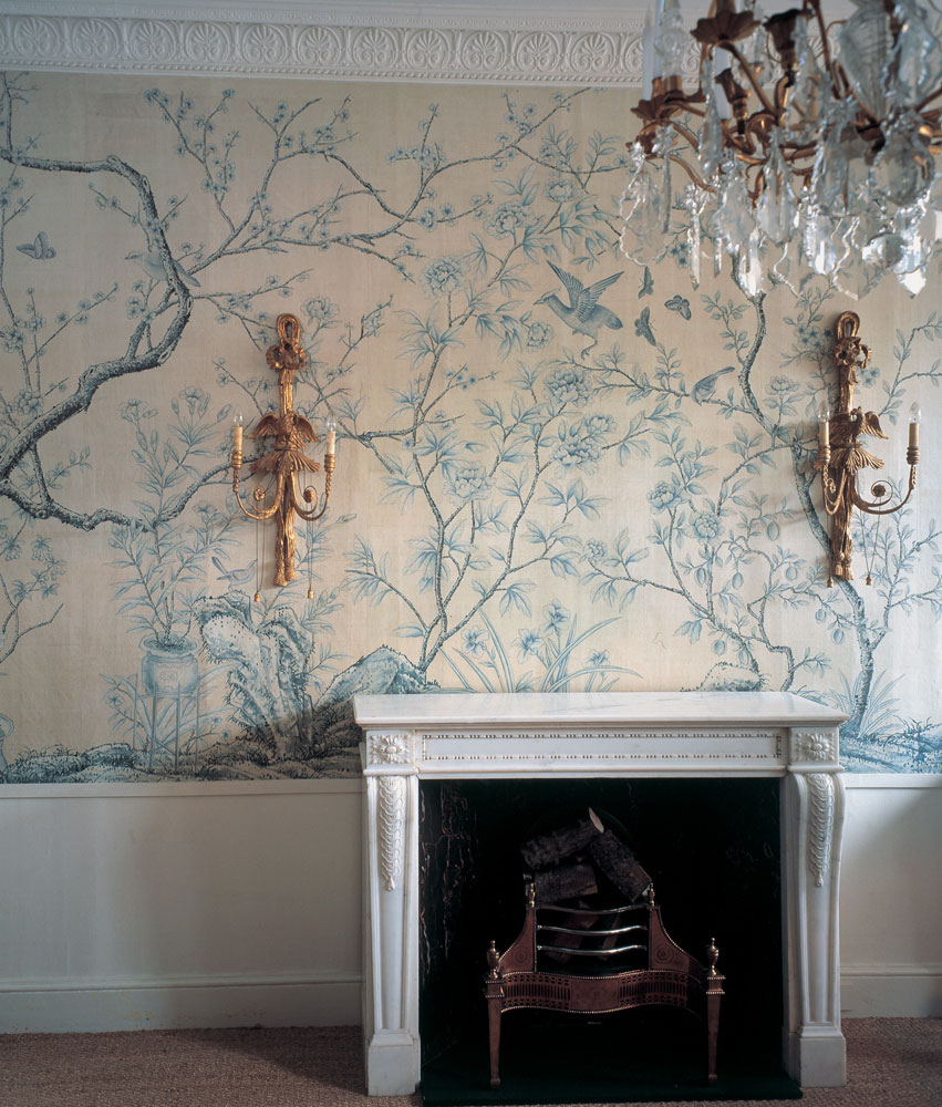 Sanctuary chinoiserie for Images of interior painted walls