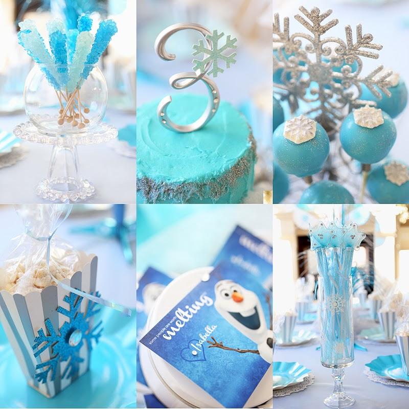 Tiffany Bills Designs Frozen Birthday Party