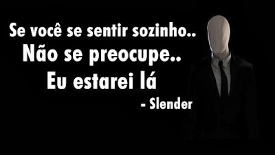 Recado do Slender Man