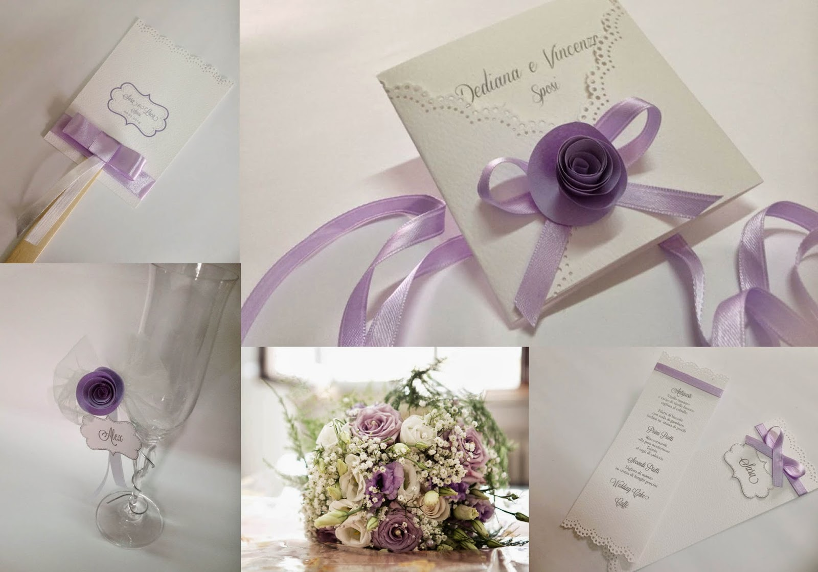 Matrimonio In Lilla : Matrimonio in lilla coordinato per le nozze