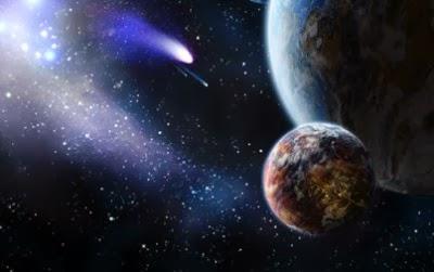 اكتشاف كويكب جديد في الكون  - الارض الكوكب الغلاف الجوى الكواكب الفضاء - space earth asteroid