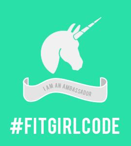 Proud ambassador of #fitgirlcode